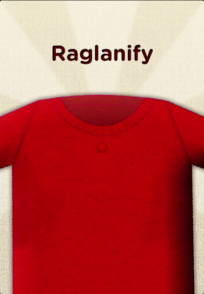 Saturday Internet Crushes: Raglanify Knitting App | Red-Handled Scissors