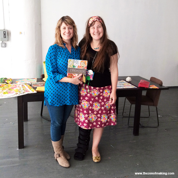Photo Roundup: Sewing for All Seasons Book Party at Brooklyn Craft Company | Red-Handled Scissors