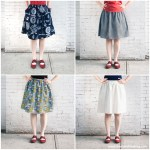 Tutorial: Perfect Summer Skirt (with Pockets!) | Red-Handled Scissors