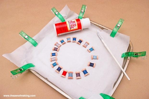 Tutorial: Resin Thread Spool Bracelet | Red-Handled Scissors