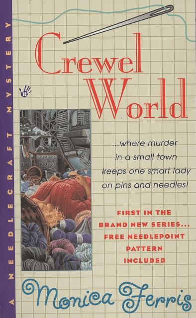 Crafty Audiobook Review: Crewel World: A Needlecraft Mystery, Book 1