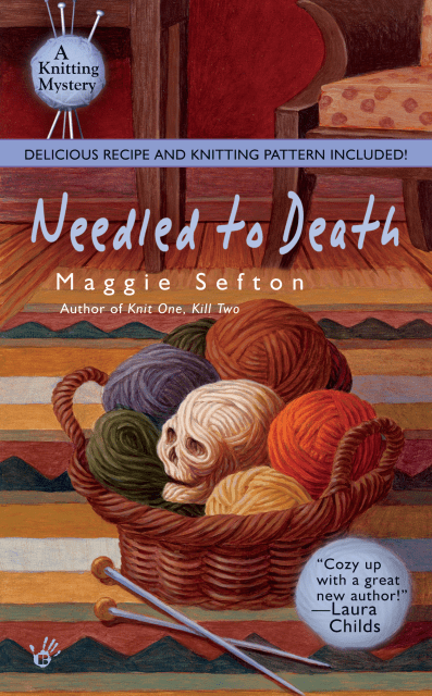 Crafty Audiobook Review: Needled to Death: A Knitting Mystery, Book 2