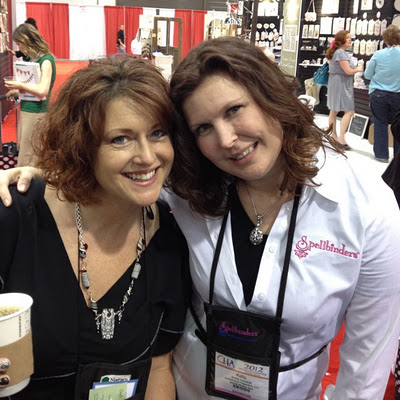 CHA: Spotted on the Show Floor | Red-Handled Scissors