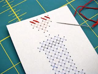 Pattern: TARDIS Cross-Stitch Valentine   Red-Handled Scissors