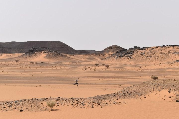 komplek piramida kedua yang berada sekitar 400 meter dari komplek pertama