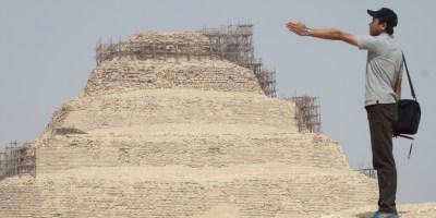 Piramida Djoser di Saqqara, Piramida lain di Mesir