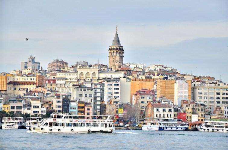 Galata Tower in Istanbul, Turkey