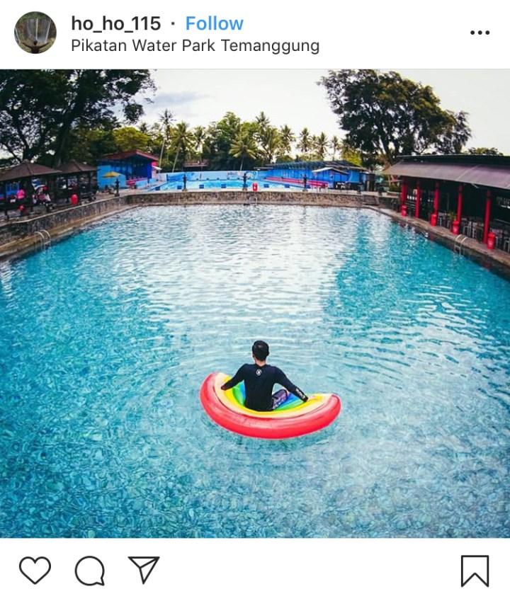 Pikatan Water Park Temanggung