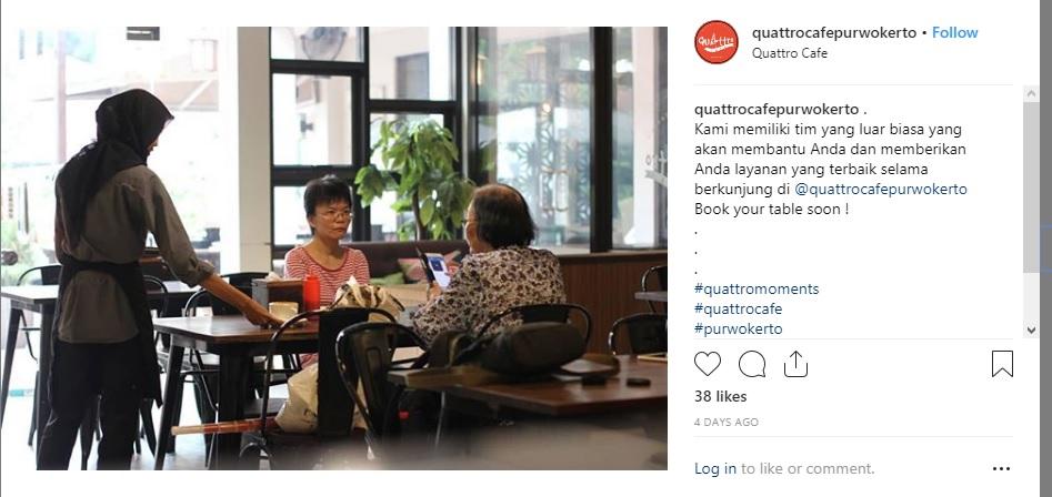 Quattro Cafe Purwokerto