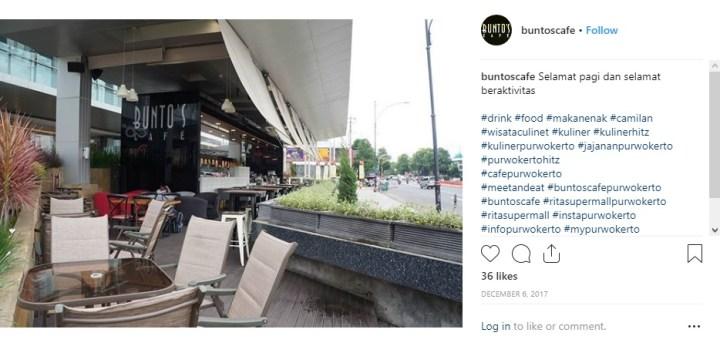 Buntos Cafe Purwokerto