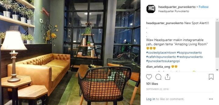 Headquarter Cafe di Purwokerto