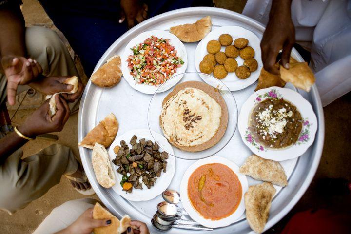 Menu makan orang Sudan