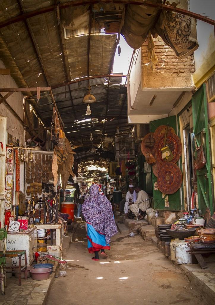 Suasana di Pasar Omdurman