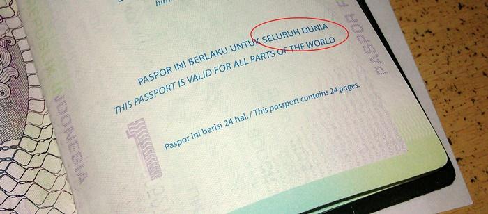 Paspor Indonesia 24 Halaman