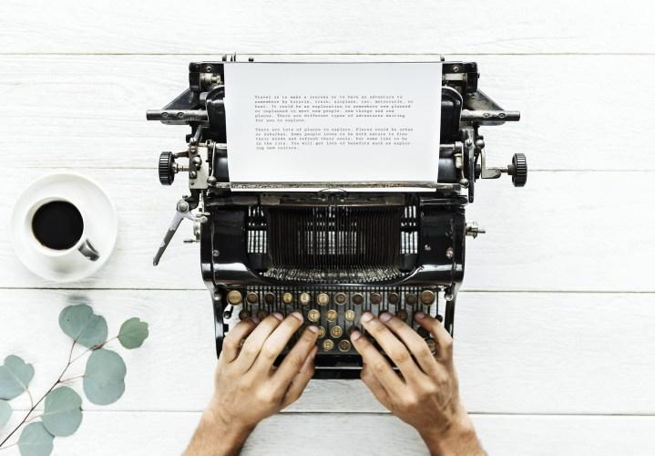 Typing machine