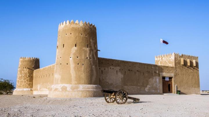 Benteng Al Zubarah di Qatar