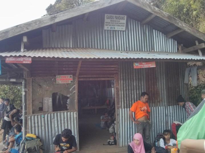 Pos 1 Pendakian Gunung Slamet Desa Bambangan, Purbalingga
