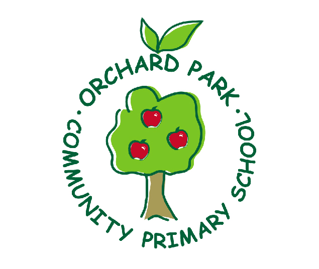Image of the Orchard Park Community Primary School logo