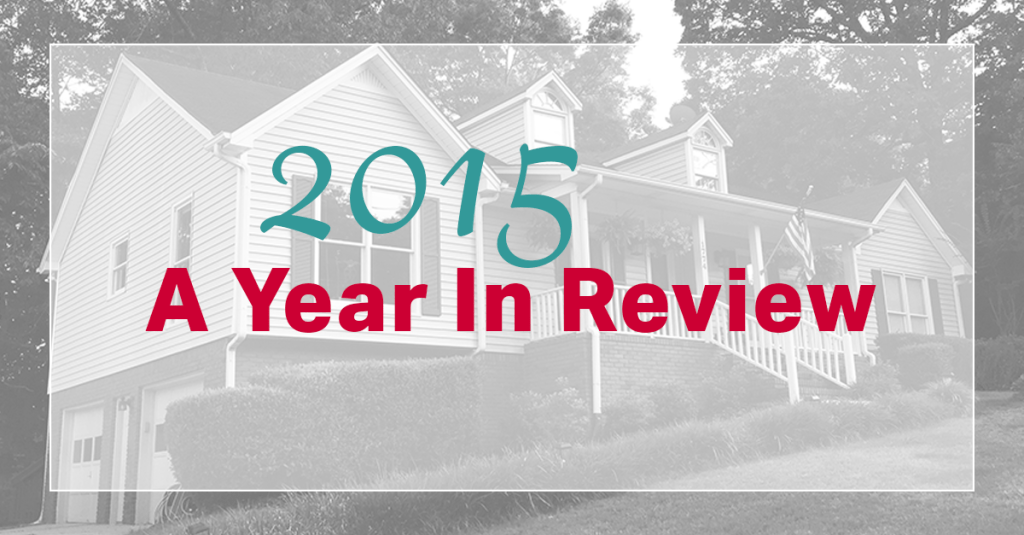 2015 A Year In Review
