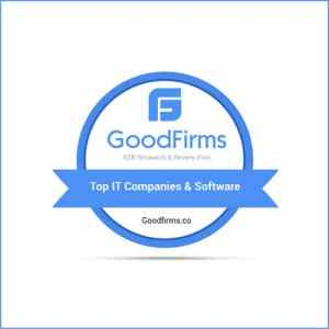 GoodFirms top custom software development companies in UK
