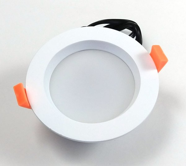 6 W Recessed Round Front
