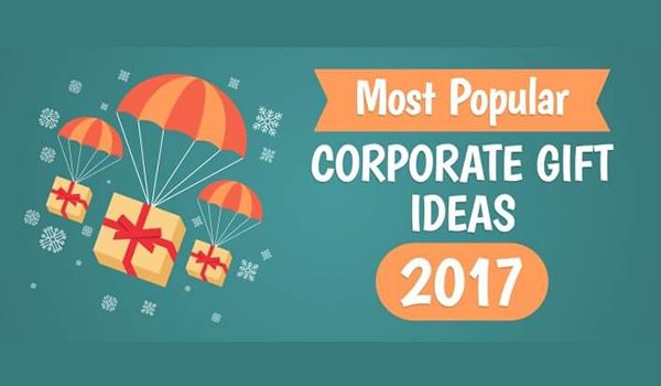 Most Popular Corporate Gift Ideas Of 2017 Red Infographics