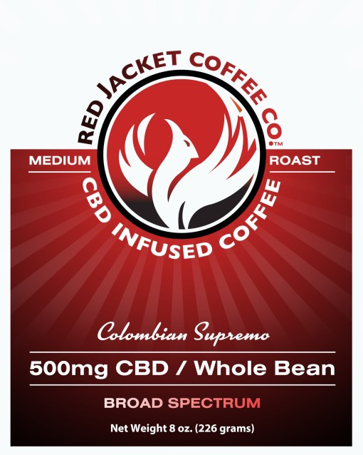 Colombian Supremo CBD Coffee