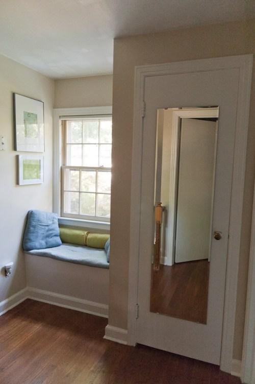 Upstairs Hallway, New Mirror