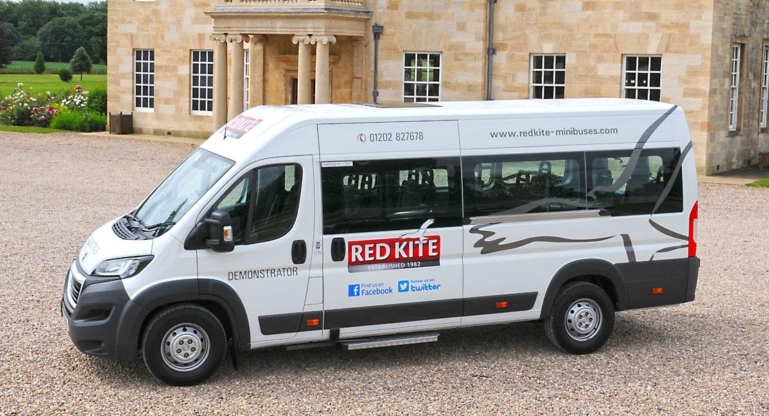 Red Kite Peugeot Minibus