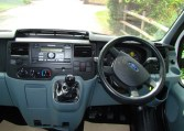 Ford Transit dashboard