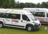 Red Kite Ford and Peugeot minibuses