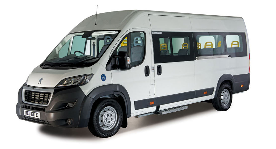 Red Kite Peugeot Accessible Minibus