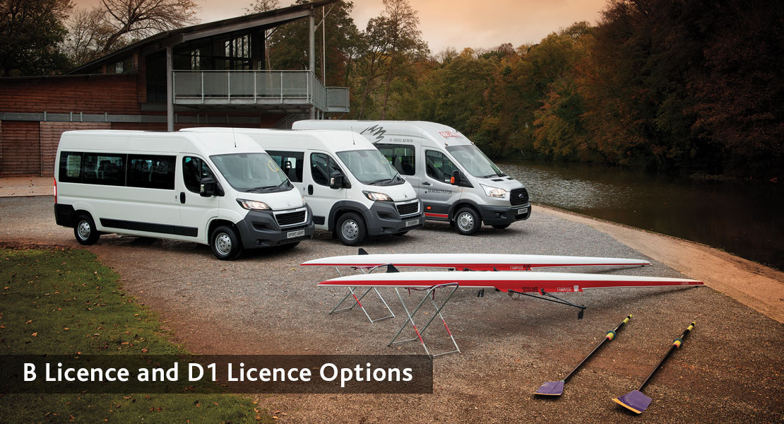 redkite school minibuses B Licence and D1 Licence Options