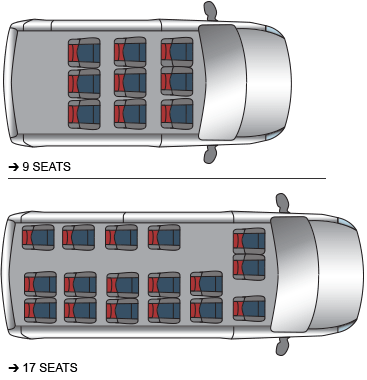 Red Kite Renault Seating Plan