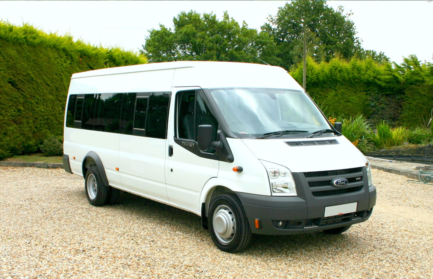 17 seat ford minibus from red kite the uk s leading supplier of minibuses
