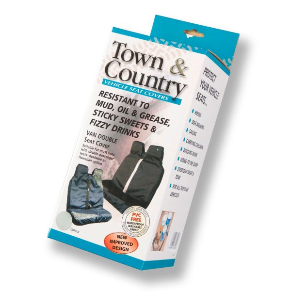 Town and Country double Seat Cover