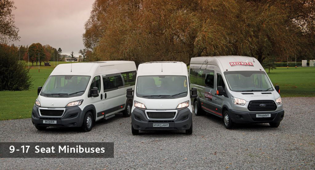 Red Kite 9-17 Seat School Minibuses