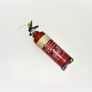 Fire Extinguisher for Minibus Red Kite Minibuses tel 01202 827678 redkite-minibuses.com