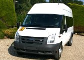 Ford Transit 17 seat High top minibus Red Kite Minibuses 01202827678