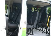Single wheelchair minibus