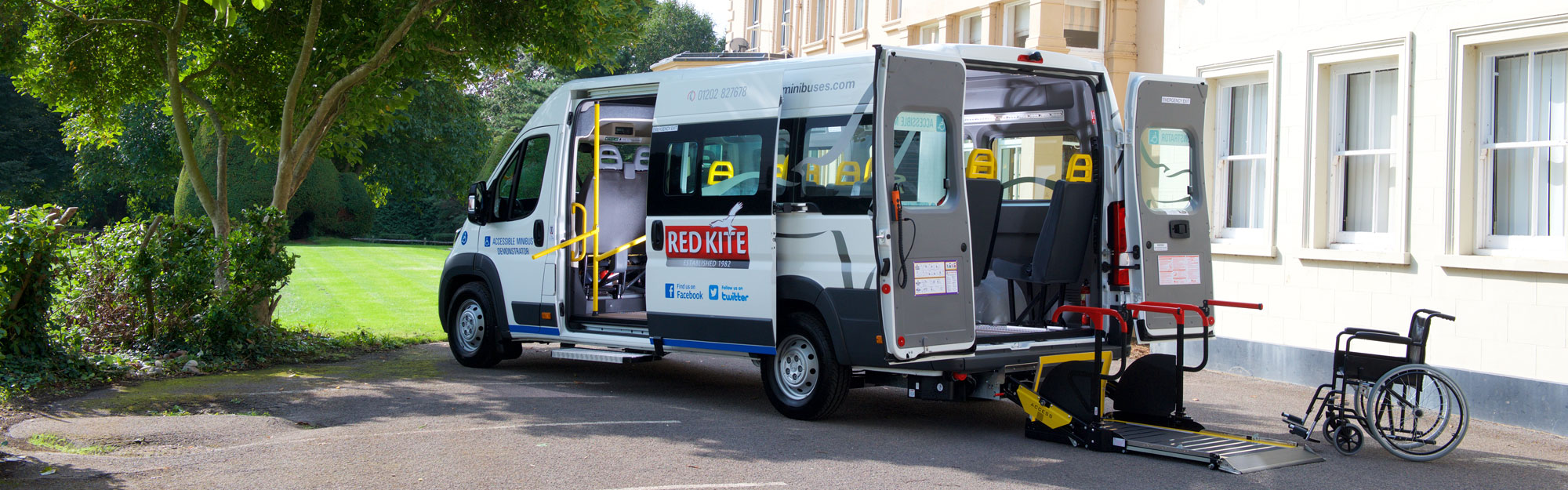 Red Kite Accessible Demonstrator Minibus