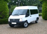 Ford Transit 14 seat minibus that you drive on a B Licence