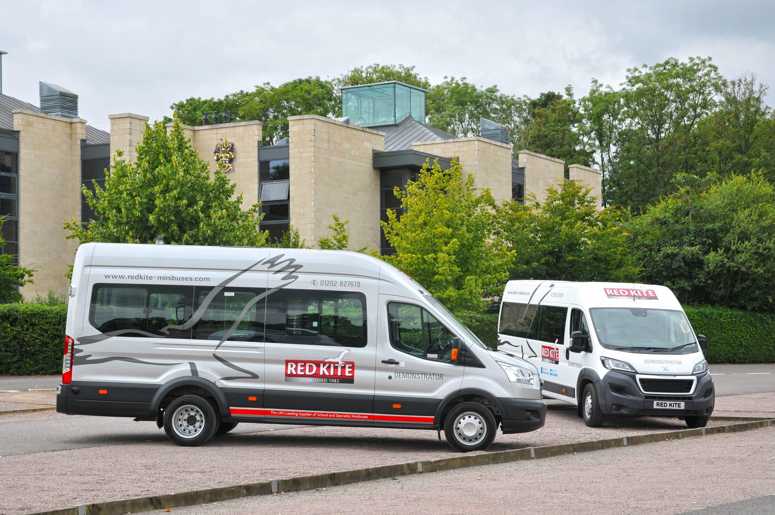 Red Kite College Minibuses