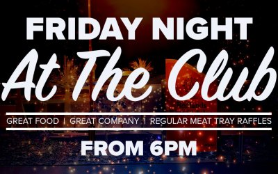 Friday Club Night – March 1