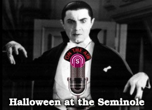 WLRN Radio Theater presents Dracula on Halloween evening at the Seminole Theatre in downtown Homestead, starting at 7pm.