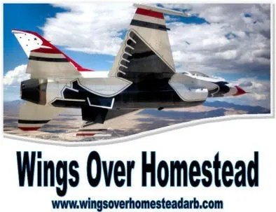 Wings Over Homestead, featuring the fabulous Thunderbirds Aerial Acrobatics team, returns to Homestead Air Reserve Base November 5-6.