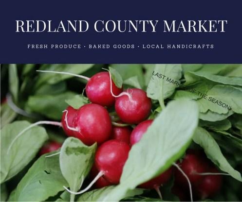 Redland Country Market End of Season