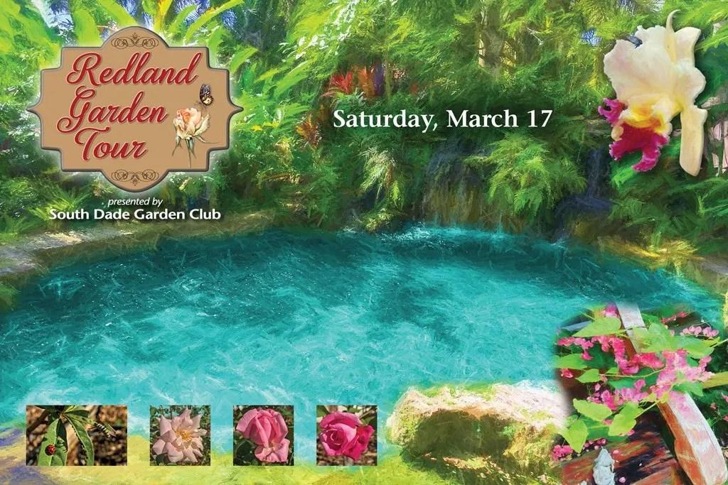 Redland Private Garden Tour by the South Dade Garden Club