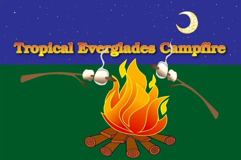 Tropical Everglades Campfire