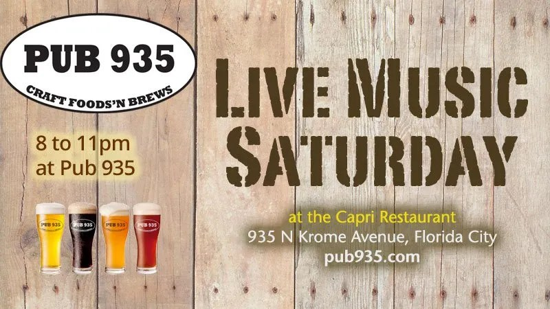 Live Music Saturdays at Pub 935